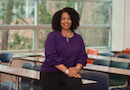 Dorinda Carter Andrews, a professor and chairperson of the Department of Teacher Education at Michigan State University.