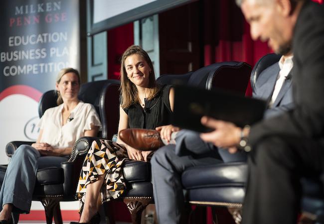 Three panelists at the 2019 EBPC.