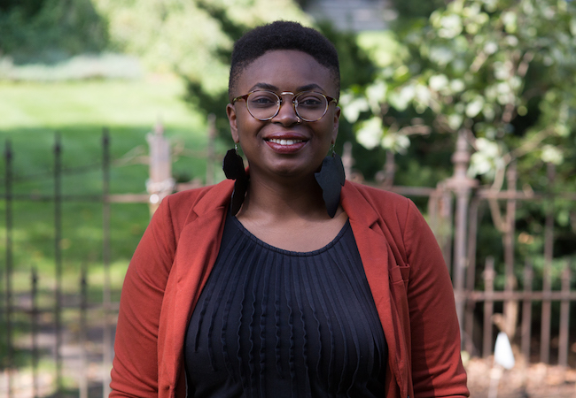 Nkemka Anyiwo, a postdoctoral fellow at Penn GSE's Racial Empowerment Collaborative