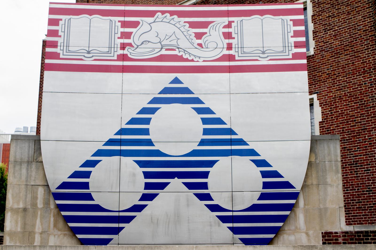 Penn Emblem on Campus