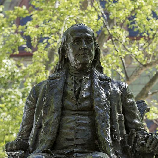 Statue of Benjamin Franklin