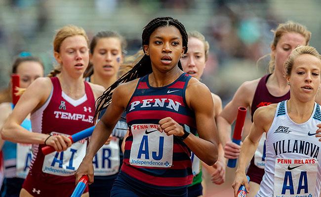 University of Pennsylvania runners
