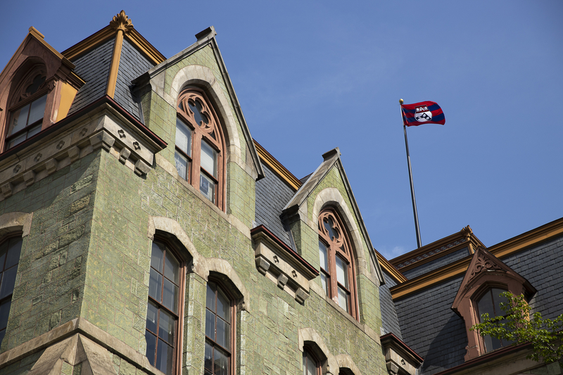 A scene from Penn's campus.