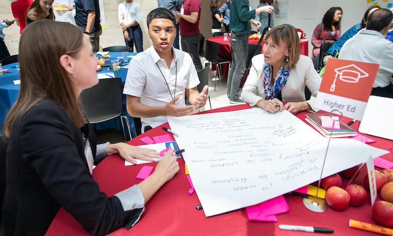 Taliq Tillman and Penn GSE Dean Pam Grossman discuss ideas for reimagining freshman orientation.