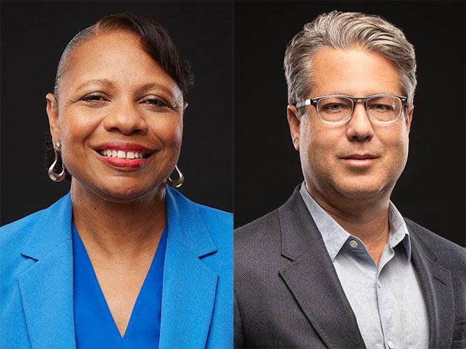 Drs. Jessie Harper and Gerald Campano