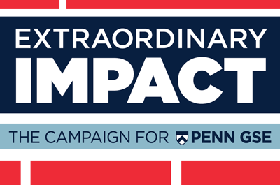 Penn GSE Extraordinary Impact Campaign Logo