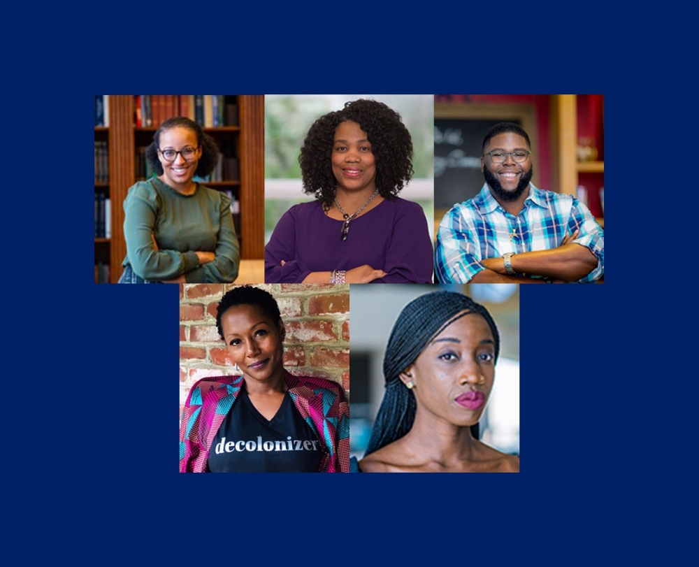 Visiting Faculty Scholars of Color Series 2020-21 Speakers