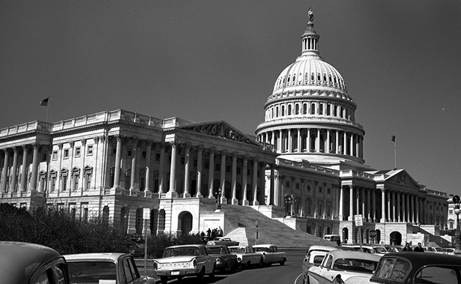 Capitol Building in Washington, DC.