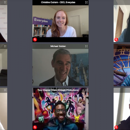 The Finalists for the Milken-Penn GSE Business Plan Competition on a virtual chat with Catalyst @ Penn GSE Executive Director Michael Golden.