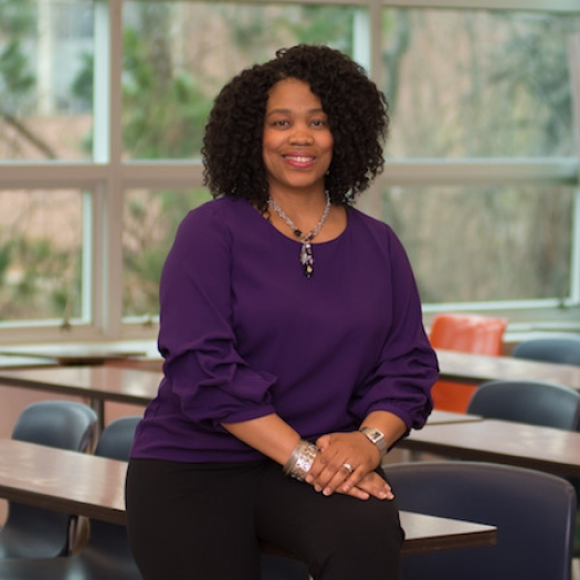 Dorinda Carter Andrews, a professor and chairperson of the Department of Teacher Education at Michigan State University