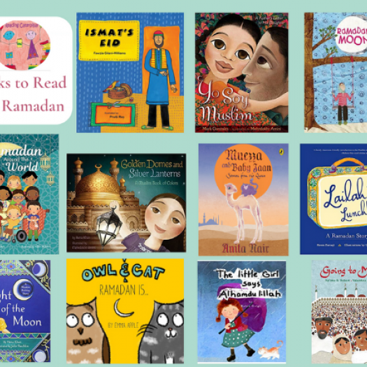 A graphic featuring the books on Rabani Garg's list.