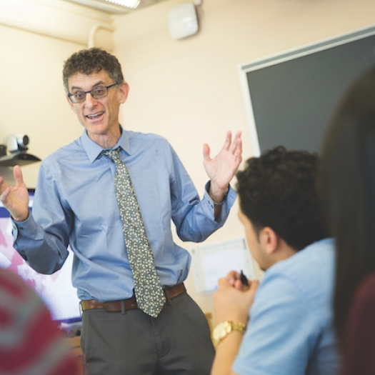 Penn GSE professor Jonathan Zimmerman teaches a class.