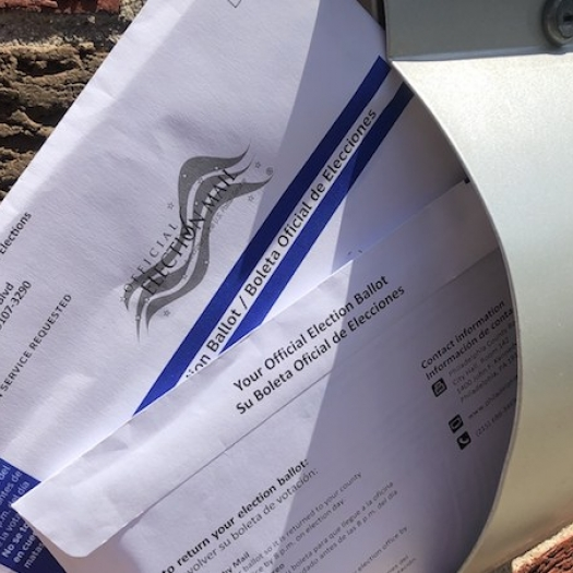 Pennsylvania mail-in ballots for the 2020 primary election.