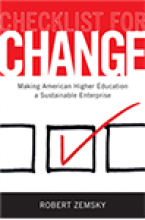 Checklist for Change: Making American Higher Education a Sustainable Enterprise Cover