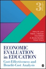 Economic Evaluation in Education: Cost-Effectiveness and Benefit-Cost Analysis, 3rd Edition Cover