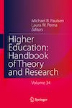Higher Education: Handbook of Theory and Research Cover