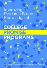 Improving research-based knowledge of College Promise programs Cover