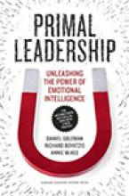 Primal Leadership: Learning to Lead with Emotional Intelligence Cover