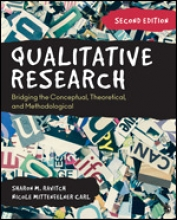 Qualitative Research: Bridging the Conceptual, Theoretical, and Methodological (2nd ed.) Cover