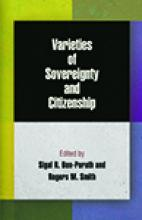 Varieties of Sovereignty and Citizenship Cover
