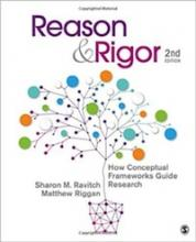 Reason and Rigor: How Conceptual Frameworks Guide Research, Second Edition Cover