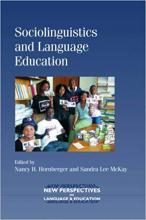 Sociolinguistics and Language Education Cover