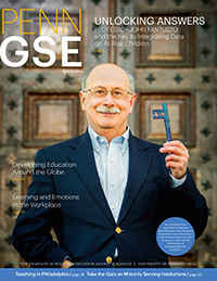 Penn GSE Magazine Cover Spring 2014