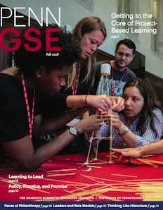 Fall 2018 Penn GSE Magazine Cover