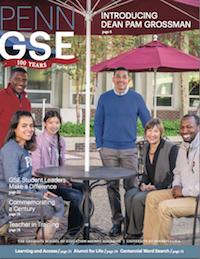 Penn GSE Magazine Cover Spring 2015